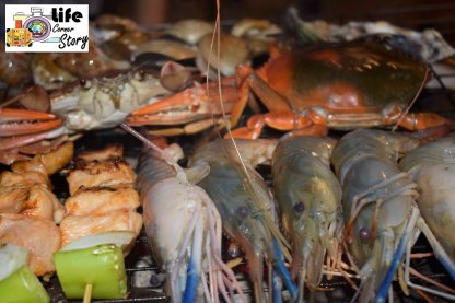Wow, a lot of seafood